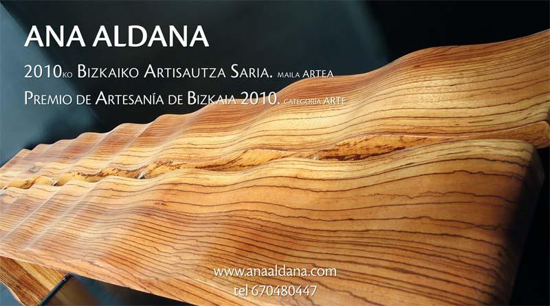 Ana Aldana Premio De Artesanía De Bizkaia 2010