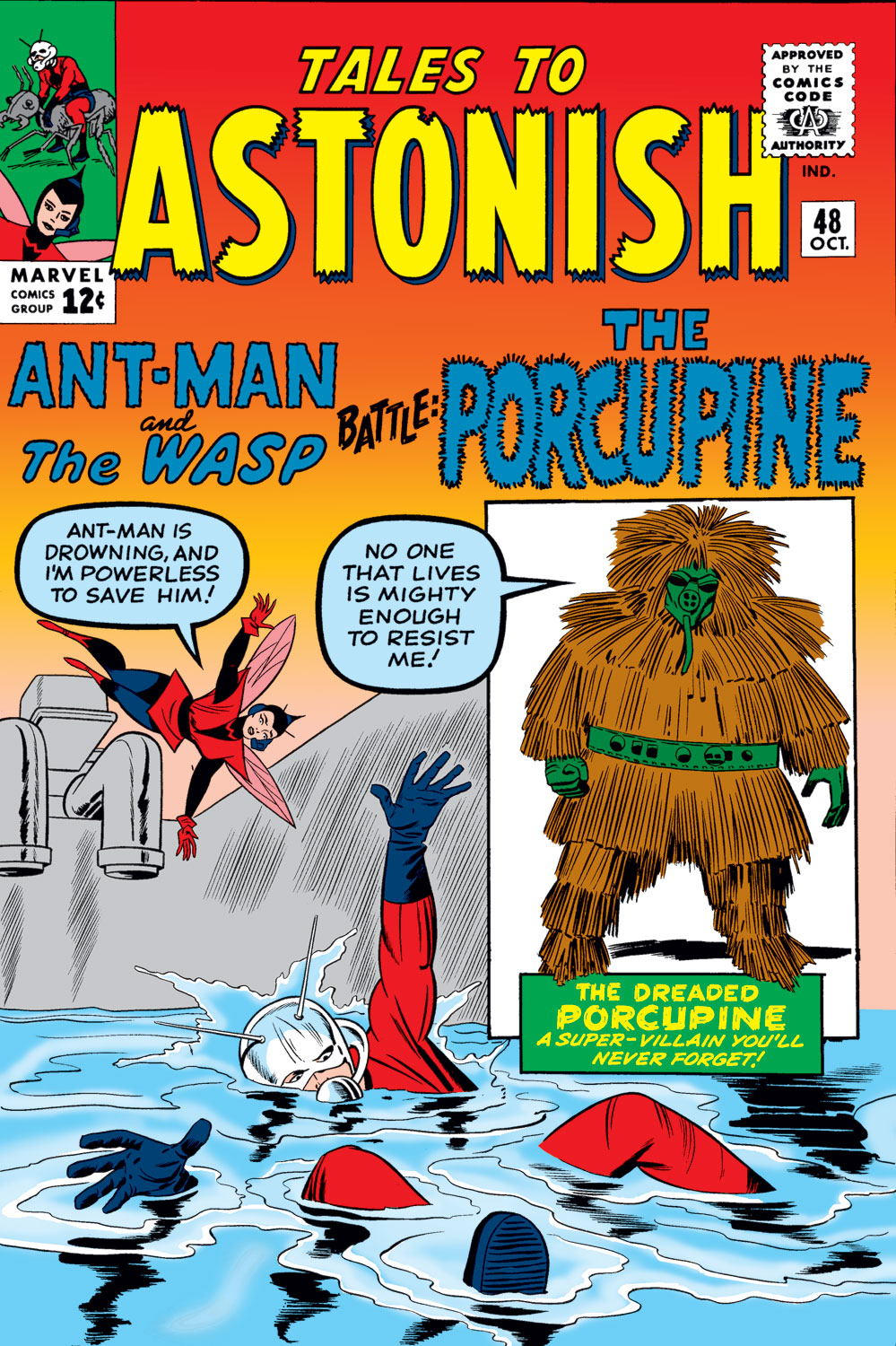 Tales to Astonish (1959) issue 48 - Page 1