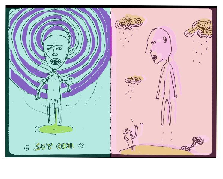 Dibujos En Libretas Ii: I´m Cool / You´re Cool
