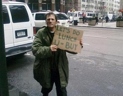 namaskaram funny homeless guys signs next edition