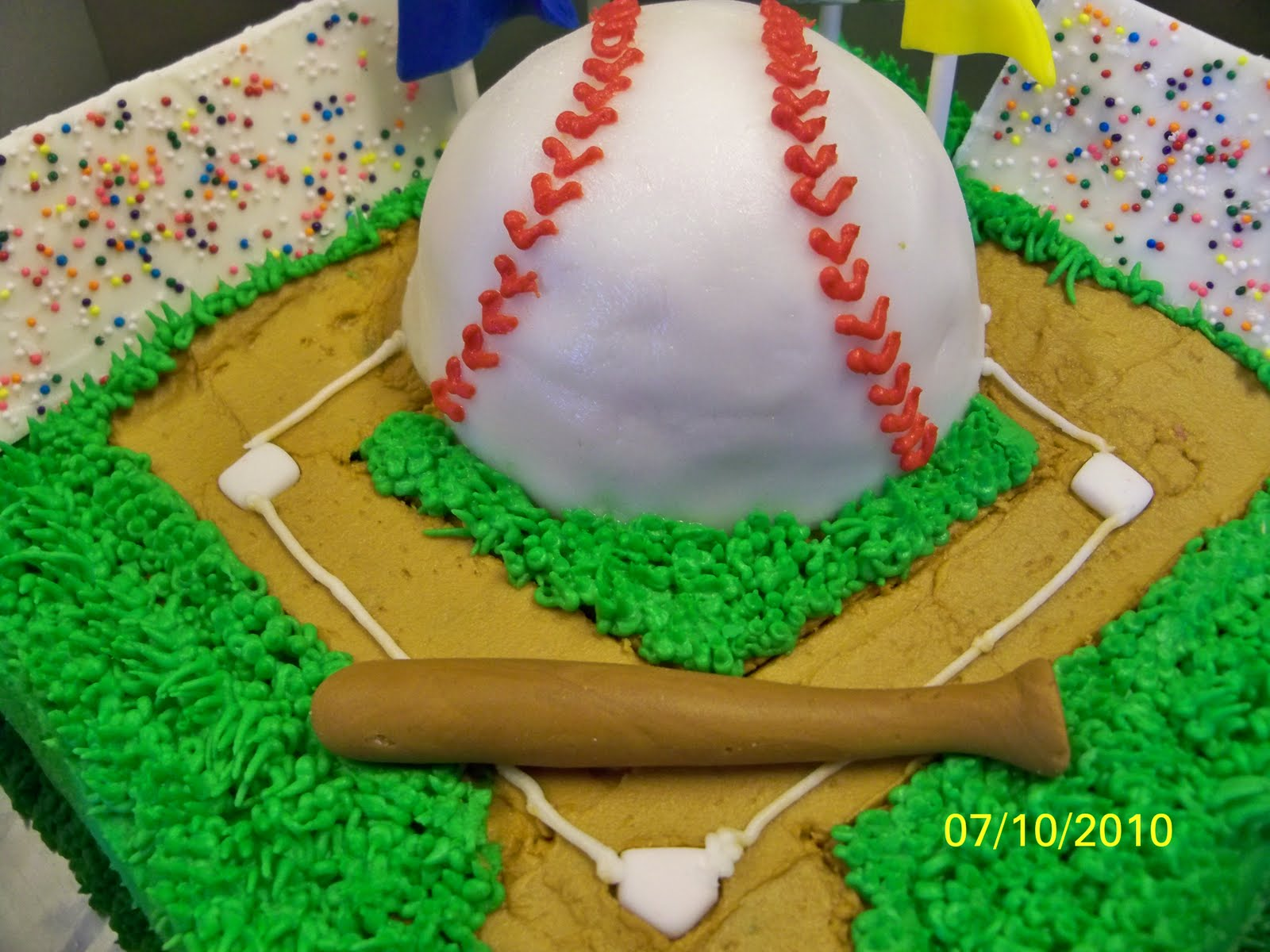 Cakes By Brandy And Kim Baseball Diamond