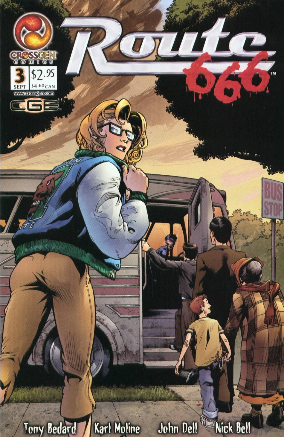 Read online Route 666 comic -  Issue #3 - 1