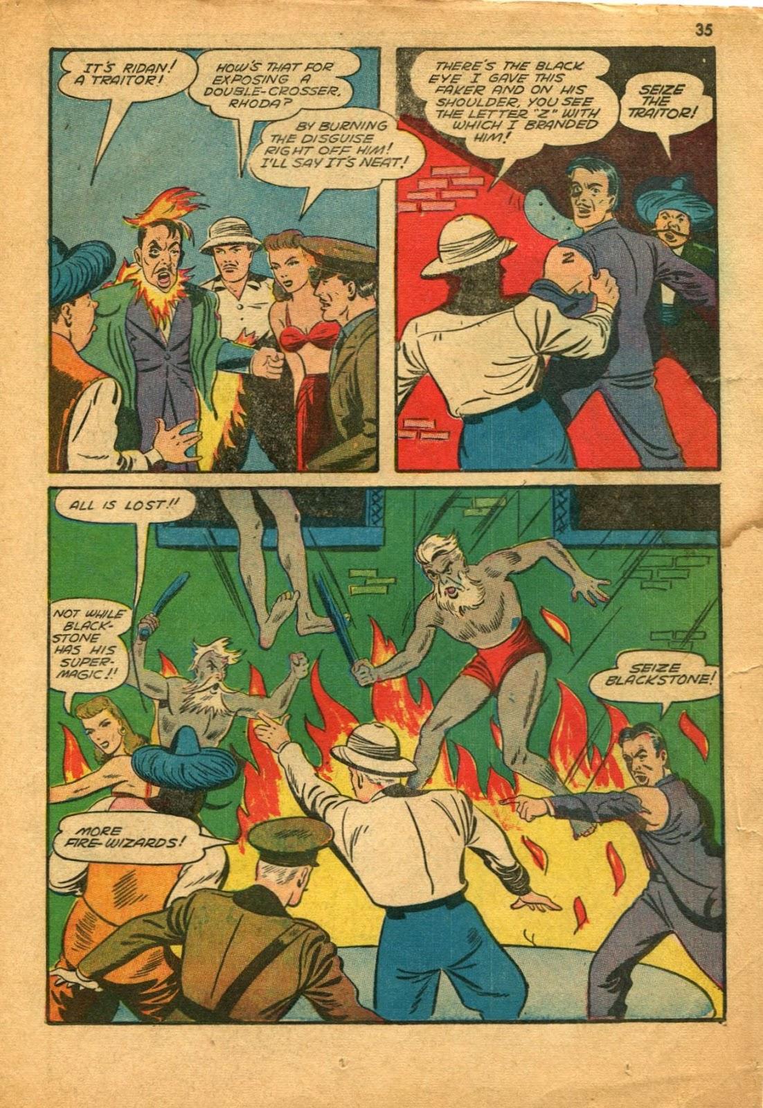 Read online Super-Magician Comics comic -  Issue #11 - 35