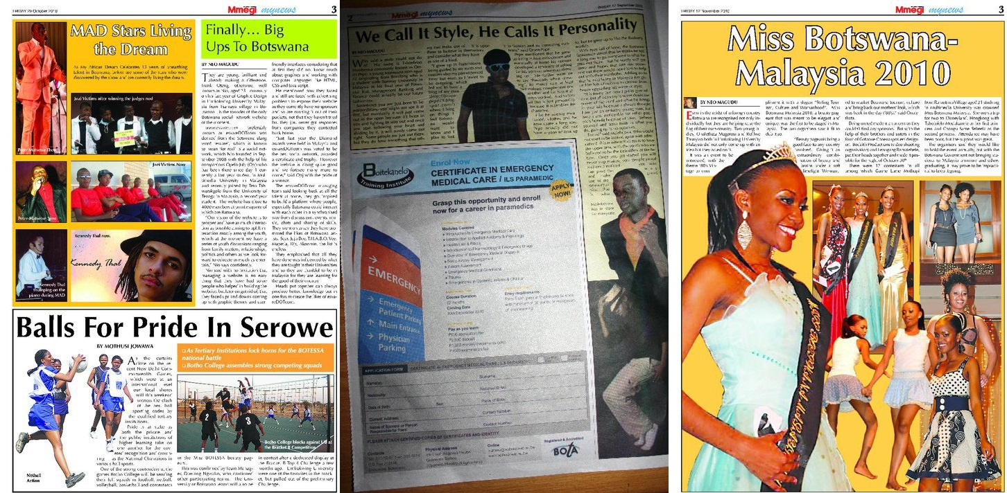 the voice newspaper botswana online