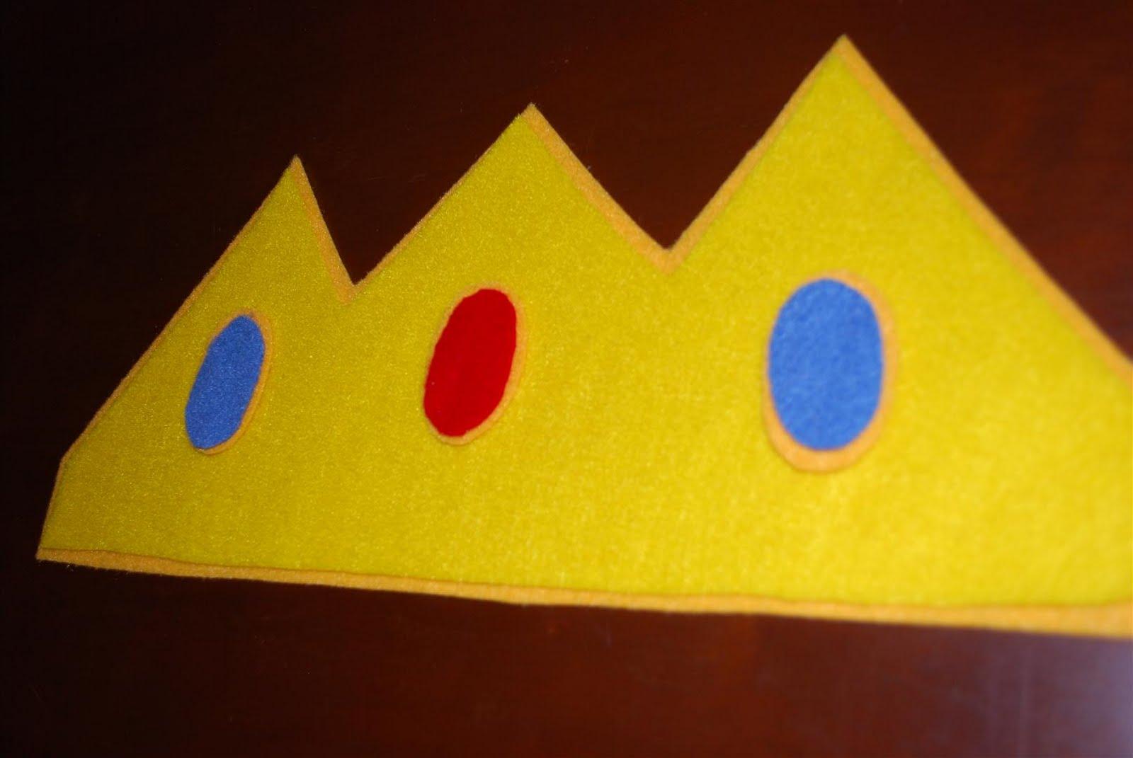 princess peach crown template