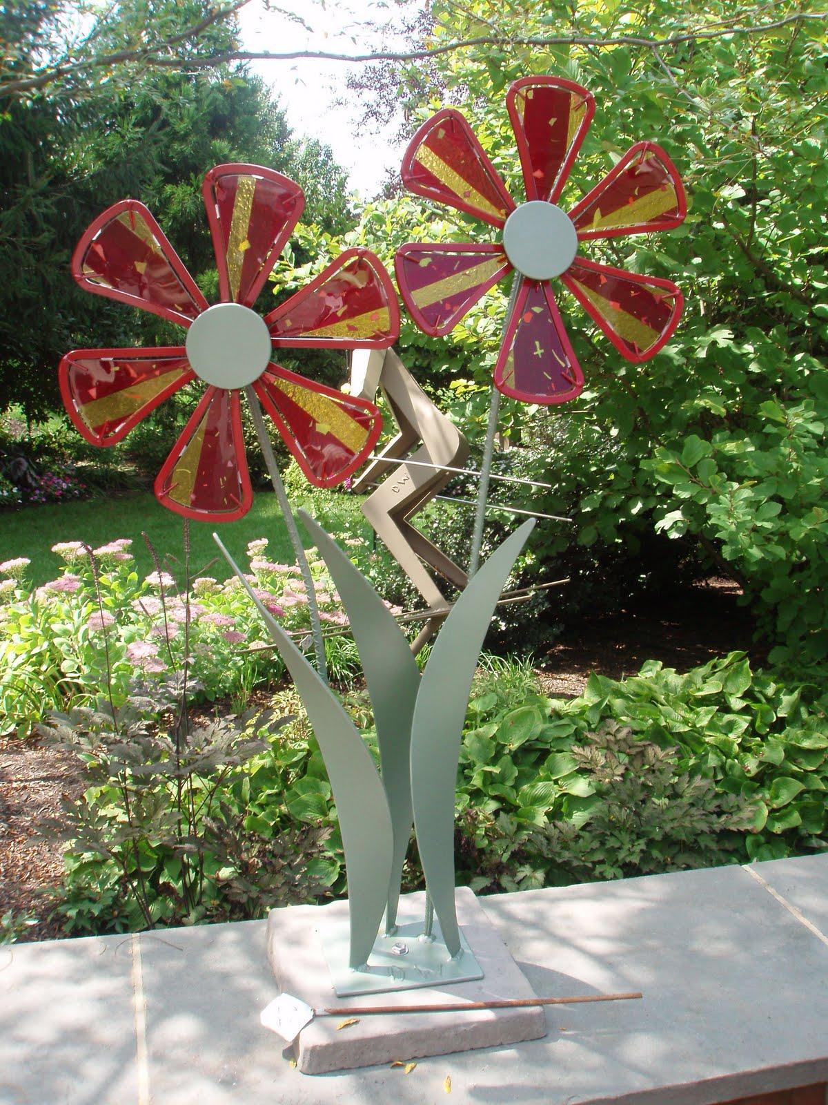Patti Lyn S Fused Glass Garden Flowers