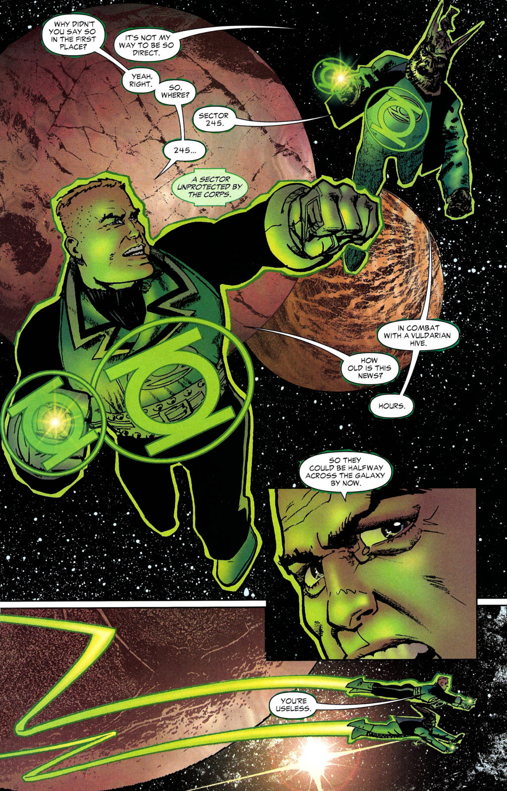 Read online Guy Gardner: Collateral Damage comic -  Issue #2 - 19