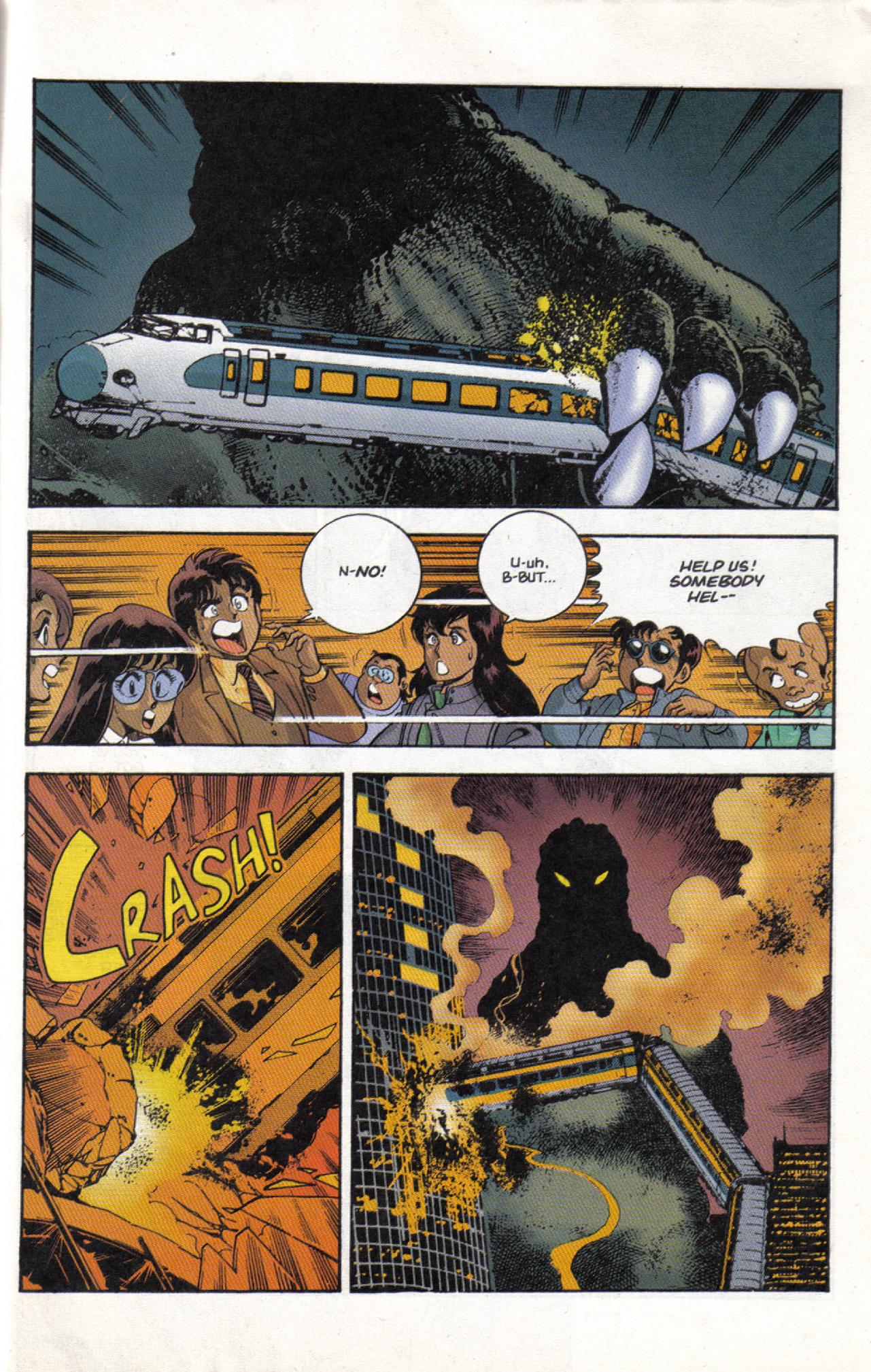 Read online Dark Horse Classics: Terror of Godzilla comic -  Issue #3 - 29