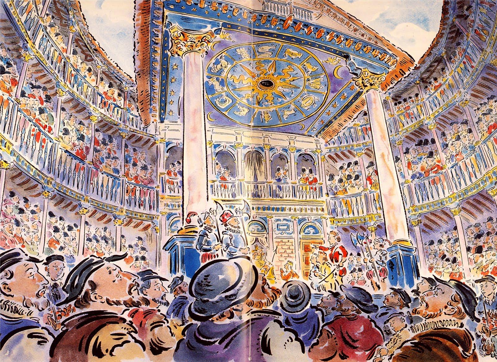 elizabethan theatre audience - photo #25