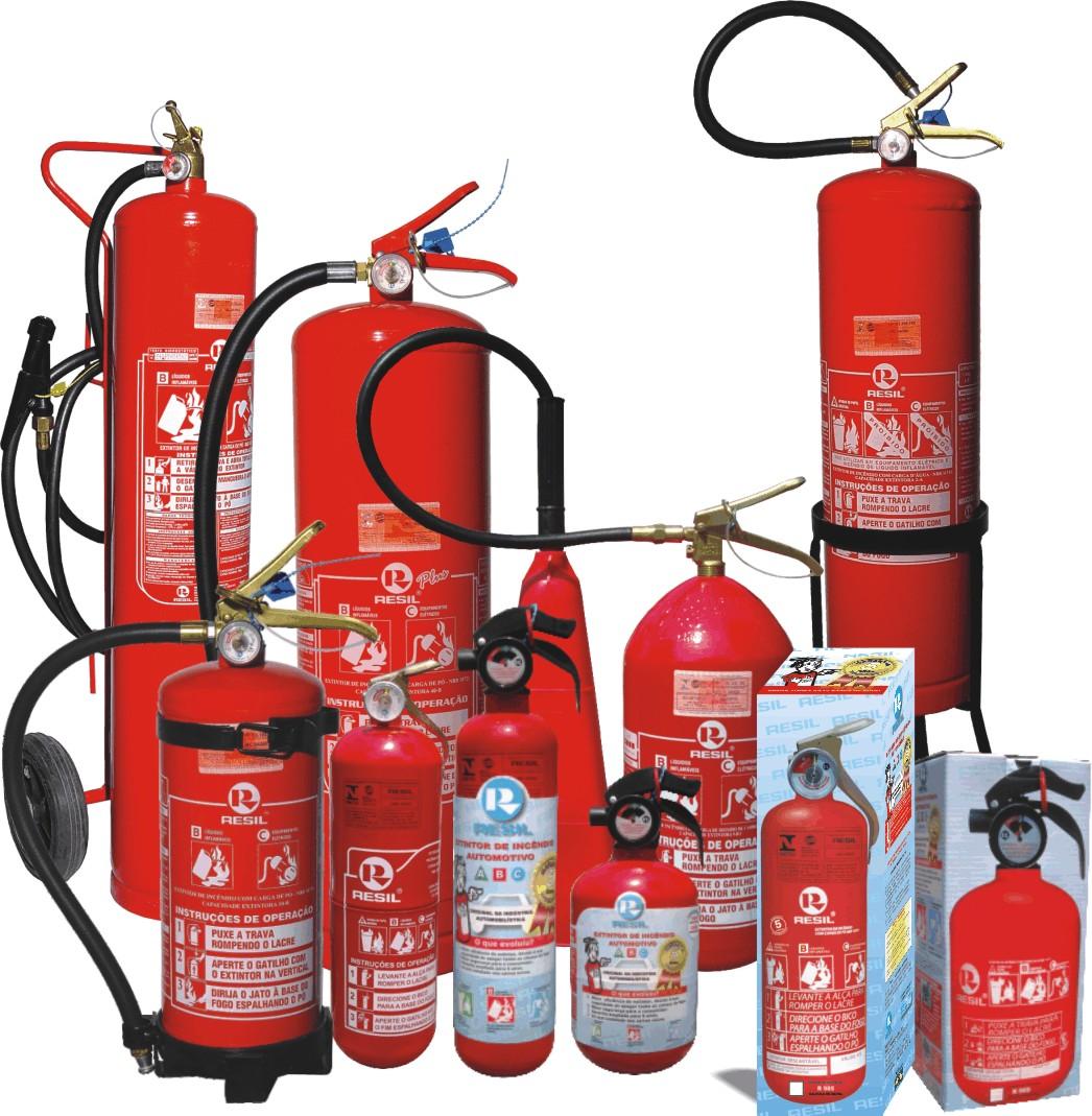 Extintor de incêndio é um equipamento de segurança que possui a finalidade  de extinguir ou controlar incêndios em casos de emergência. 2c38bc0d9d