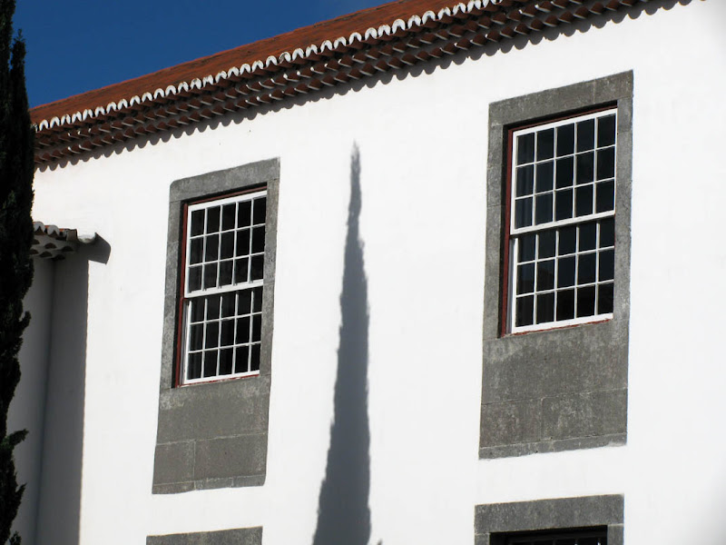 Shadow in Madeira University