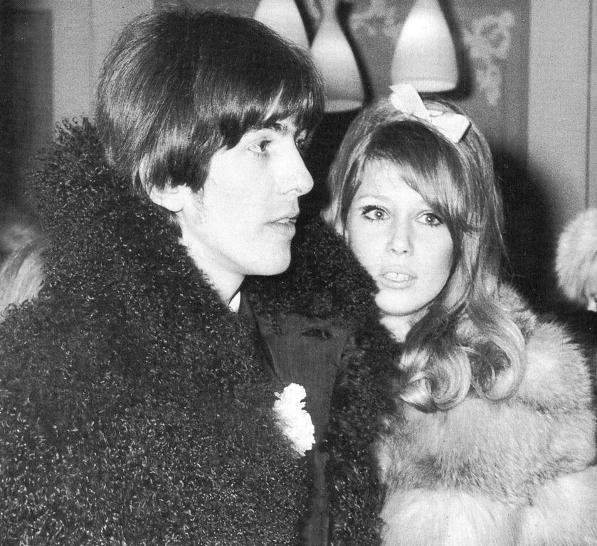 Diet Coke And Sympathy Sixties It Couple George Harrison Pattie Boyd