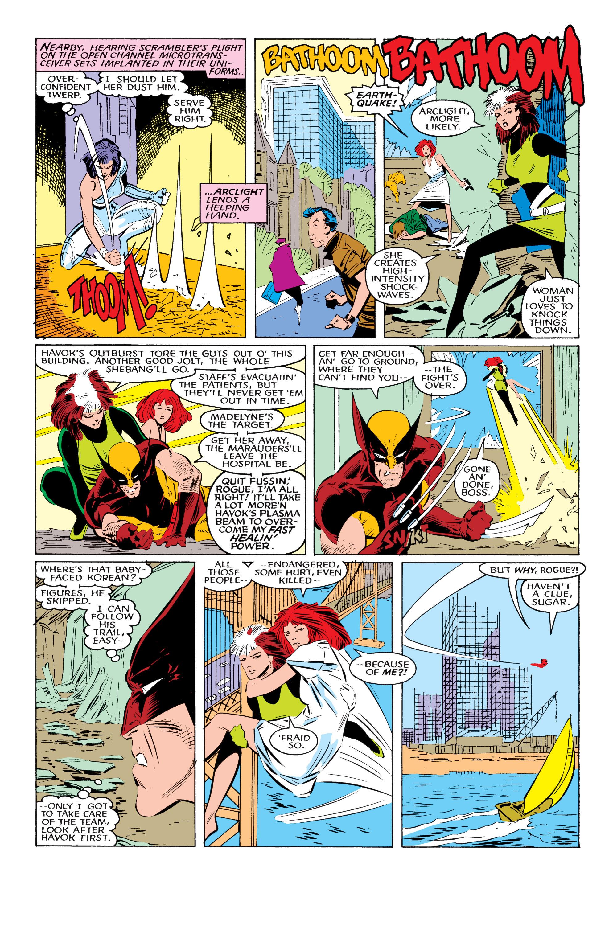 Read online Uncanny X-Men (1963) comic -  Issue #221 - 17