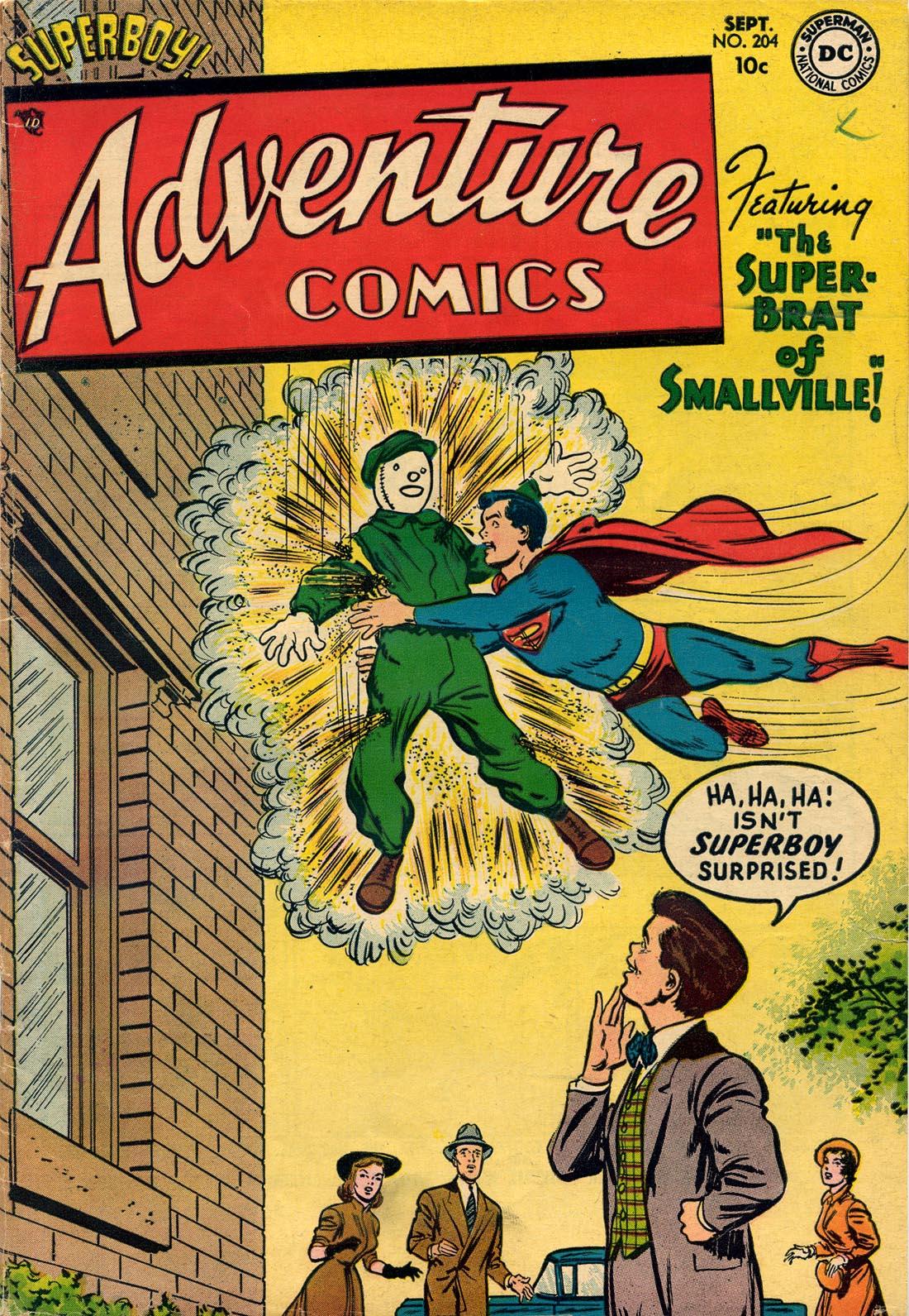 Read online Adventure Comics (1938) comic -  Issue #204 - 1