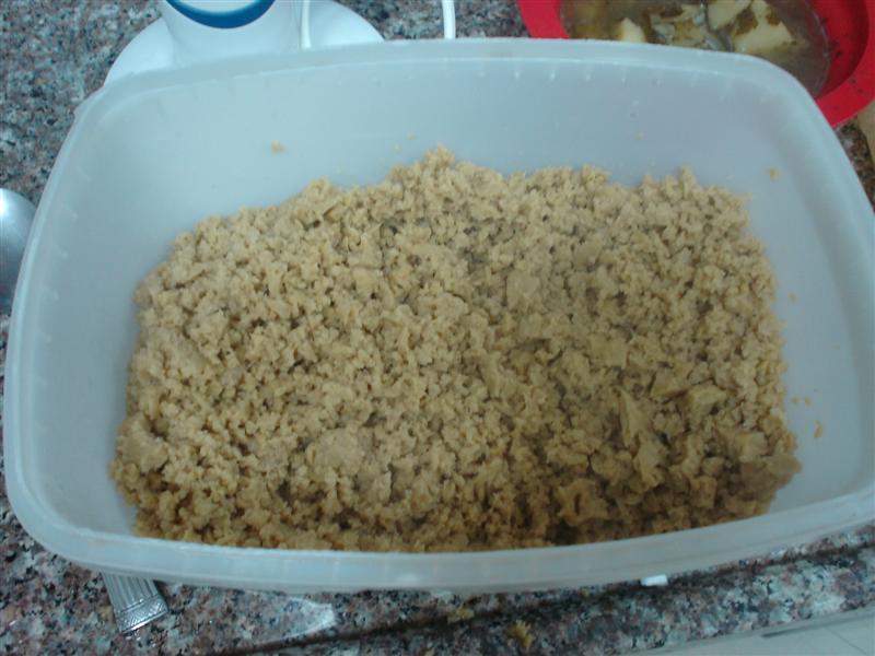 Making Ground Seitan- Frugal Vegan Hamburger Alternative