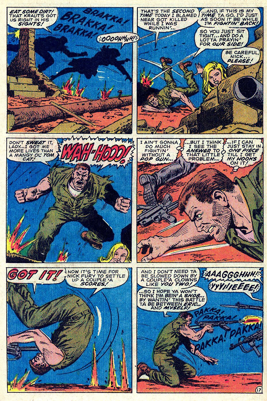 Read online Sgt. Fury comic -  Issue #66 - 24