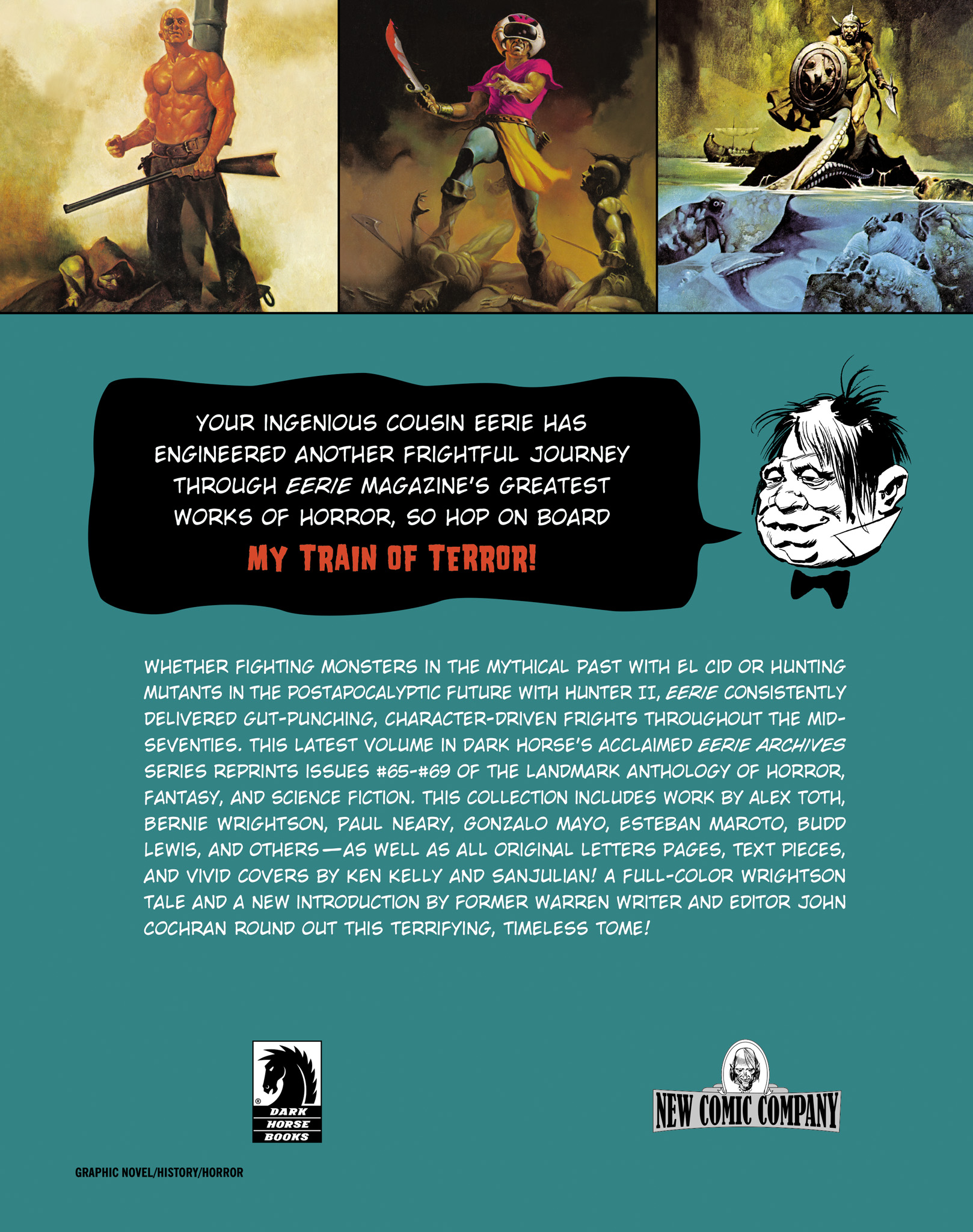 Read online Eerie Archives comic -  Issue # TPB 14 - 274