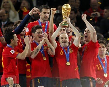 Football select une espagne royale - Finale coupe du monde 2010 ...