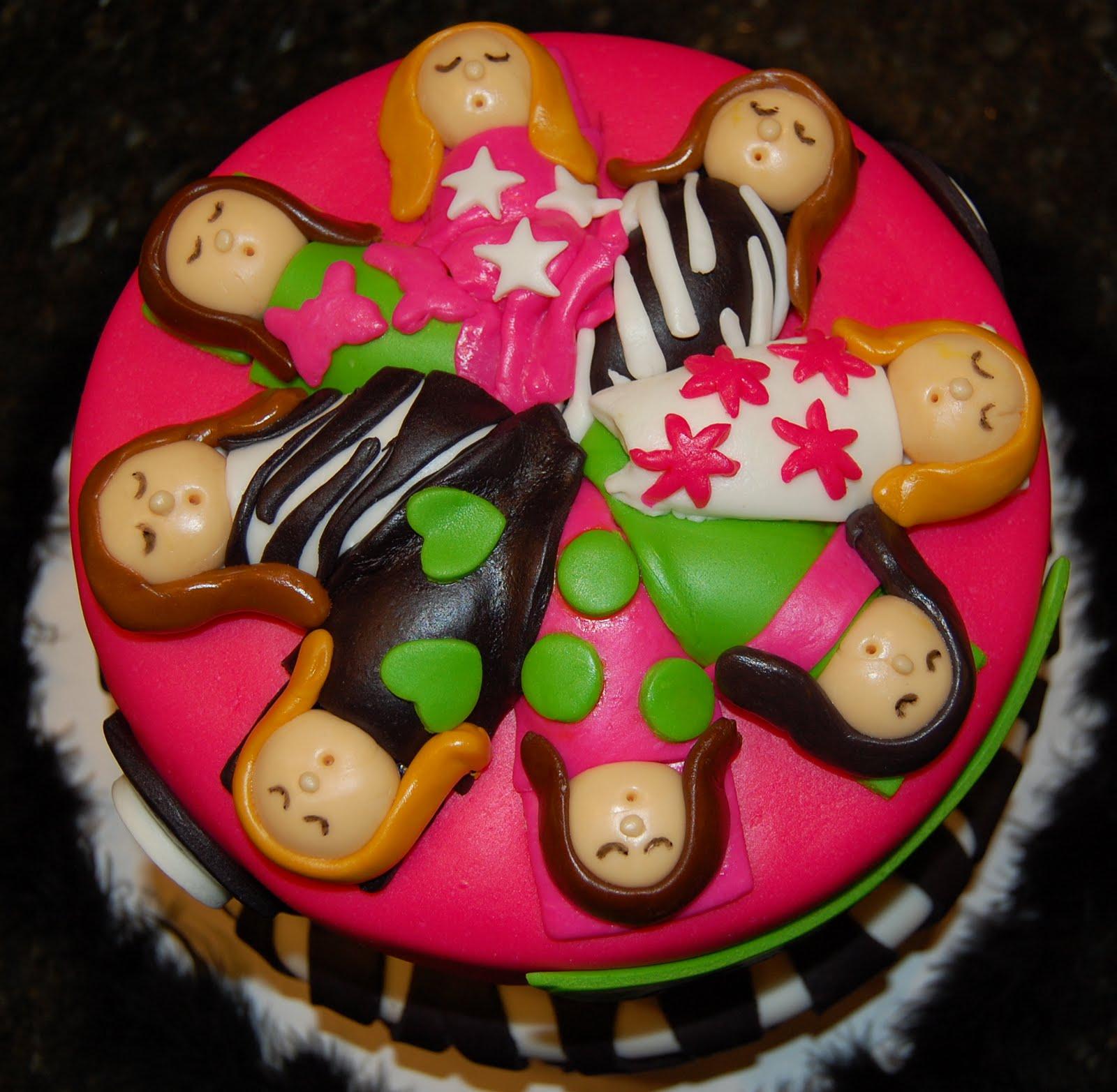 MKHKKH: Wild Slumber Party Cake