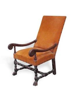 cinthia champeix fauteuil de style louis xiv mobilier xvii eme