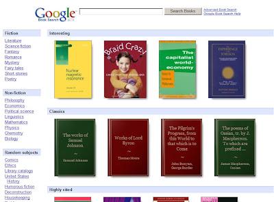 Google Books: oltre un milione di libri disponibili gratuitamente
