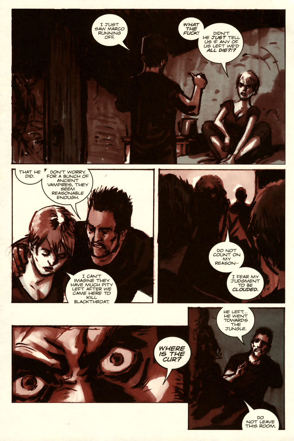 Read online Sea of Red comic -  Issue #8 - 6