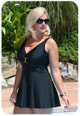 5342896f4eb64 Just Arrived Stunning Carol Wior Plus Size Swimdress