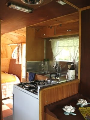 Airstream Interior Kitchen