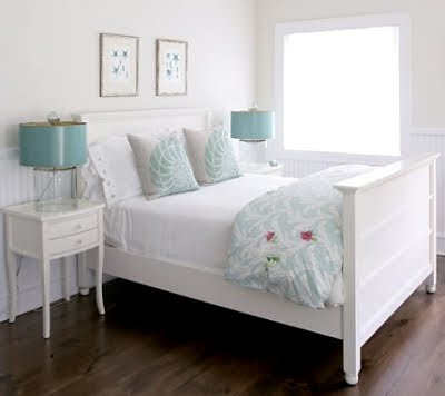 Turquoise for the Bedroom -More Pillows