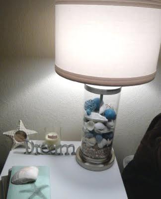 Loving Fillable Glass Table Lamps Coastal Decor Ideas Interior Design Diy Shopping