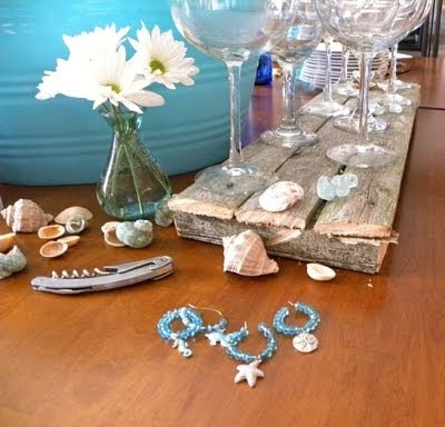 beach party craft ideas crafts from wine charms to flip flops 3429