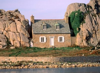 castel meur in Brittany France