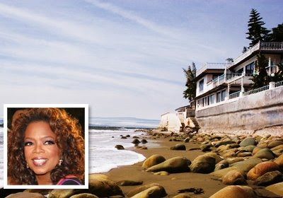 Oprah's home Santa Monica