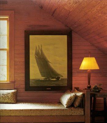 Martha Stewart wall decor sailing yacht art