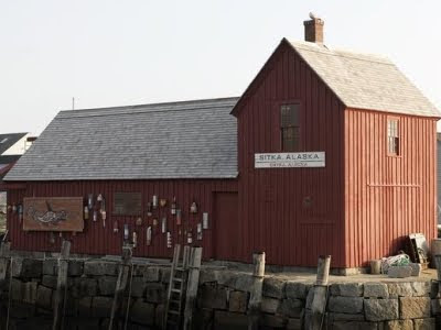 red shack in Rockport MA
