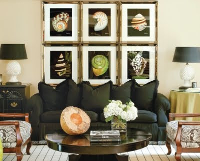 Tips for Hanging Art by Tobi Fairley