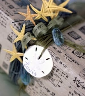 Sand Dollar Ornament Gift Wrap