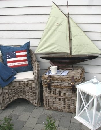 outdoor nautical decor