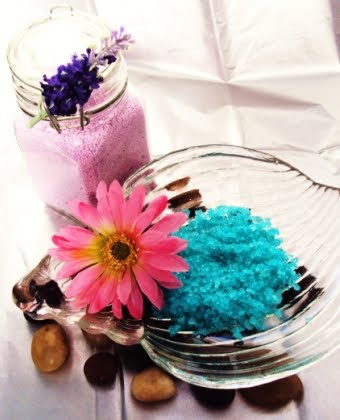 bath salts in colors