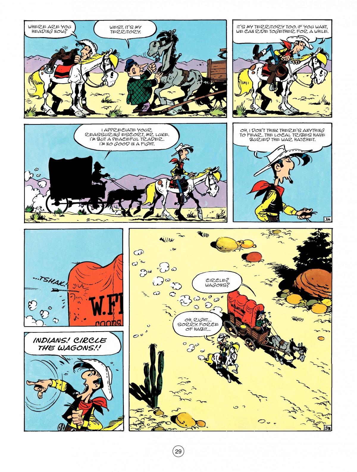 Read online A Lucky Luke Adventure comic -  Issue #50 - 29
