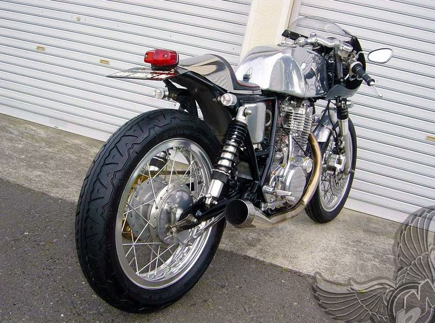 yamaha sr400 cafe racer - bikermetric