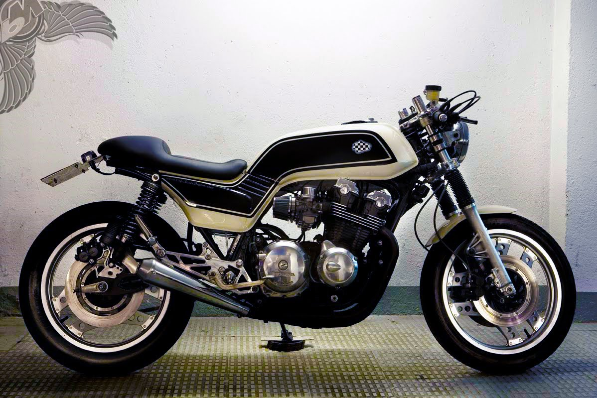 honda cb900 cafe racer inspired streetfighter - bikermetric