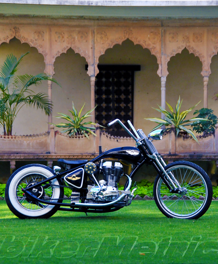 the original gangster | rajputana custom motorcycles