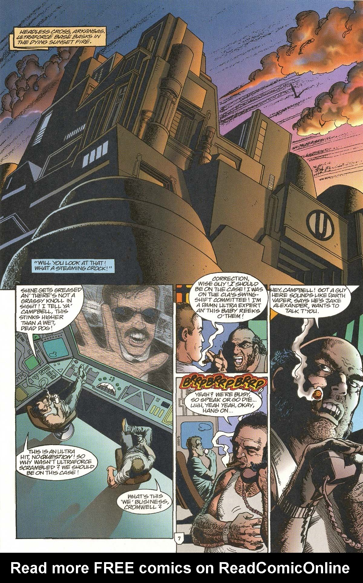 Read online UltraForce (1995) comic -  Issue #5 - 9