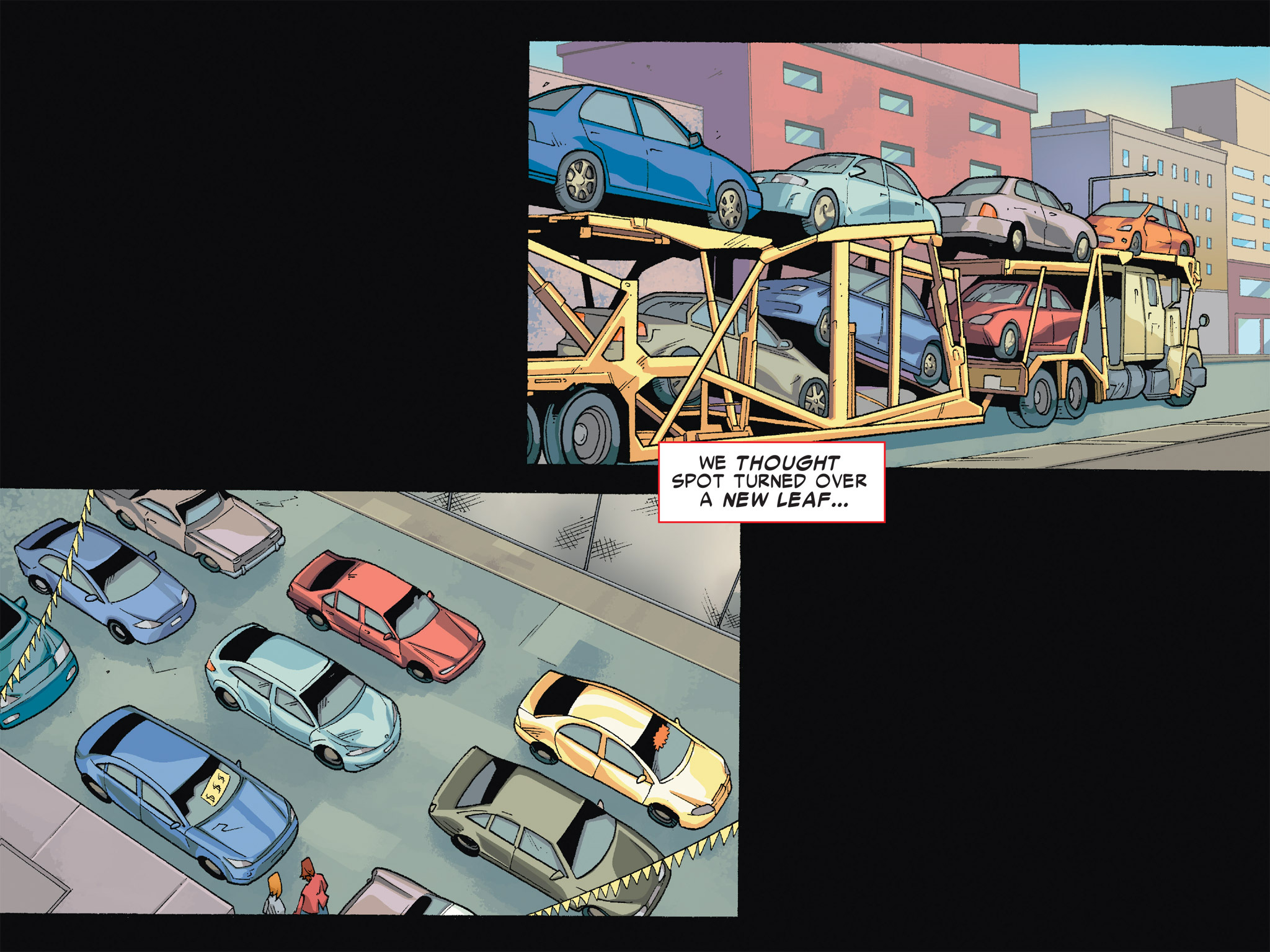 Read online Ultimate Spider-Man (Infinite Comics) (2016) comic -  Issue #6 - 15