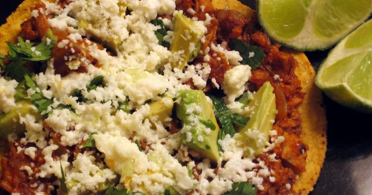 Spicy Mexican Shredded Pork Tostadas America S Test Kitchen