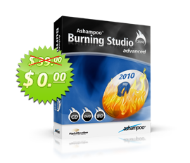 Special Offer 0% Free Ashampoo Burning Studio
