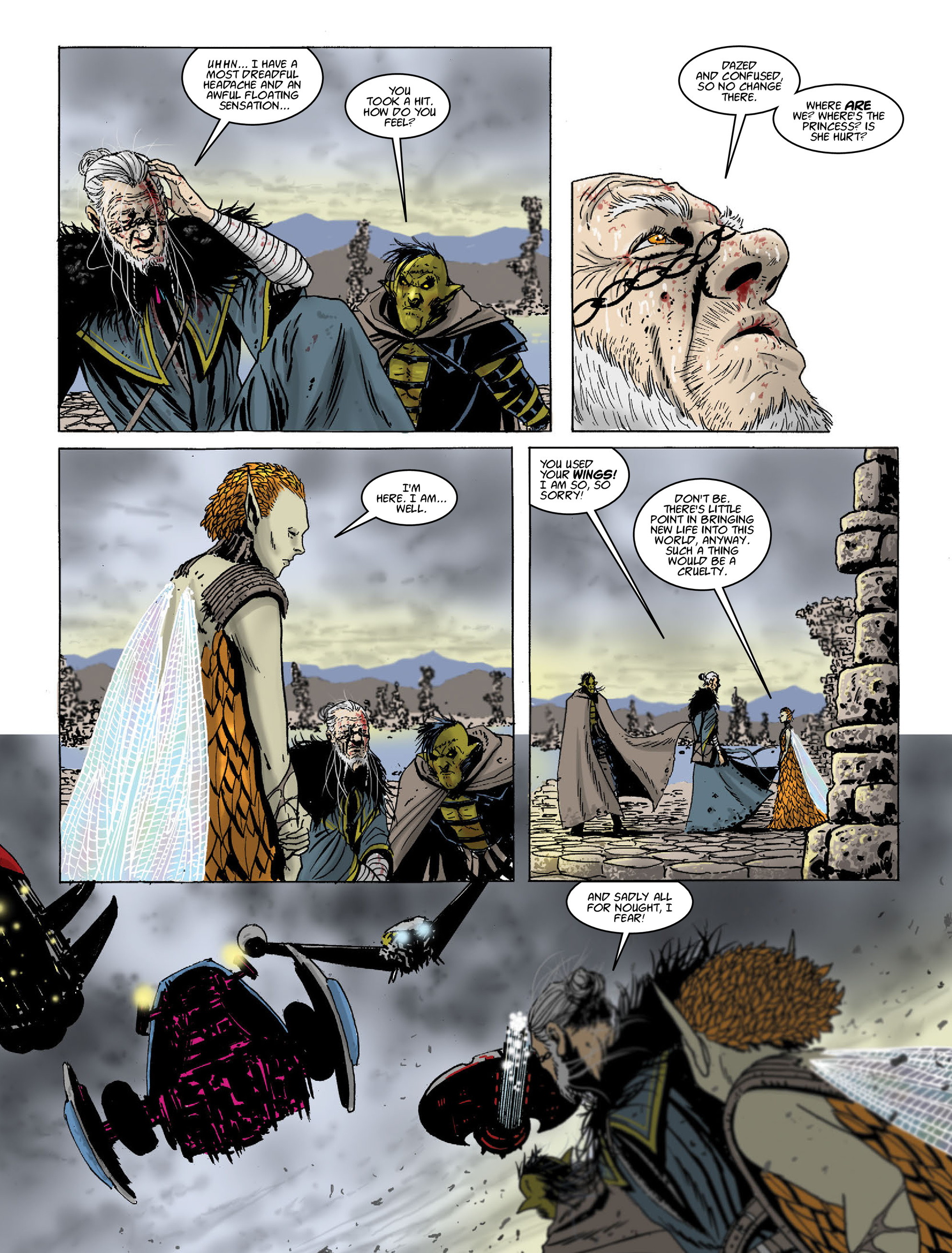 Read online 2000 AD comic -  Issue #2021 - 19