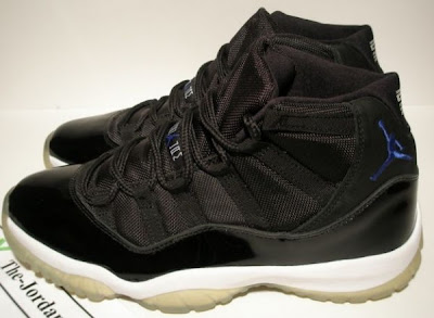f4199a71437 Phly Outta Mind  Air Jordan 11-Black Varsity Royal White- Space Jams