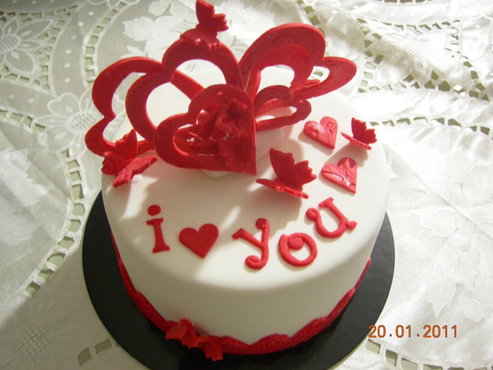 Torte Decorate Di Anna Una Torta X San Valentino